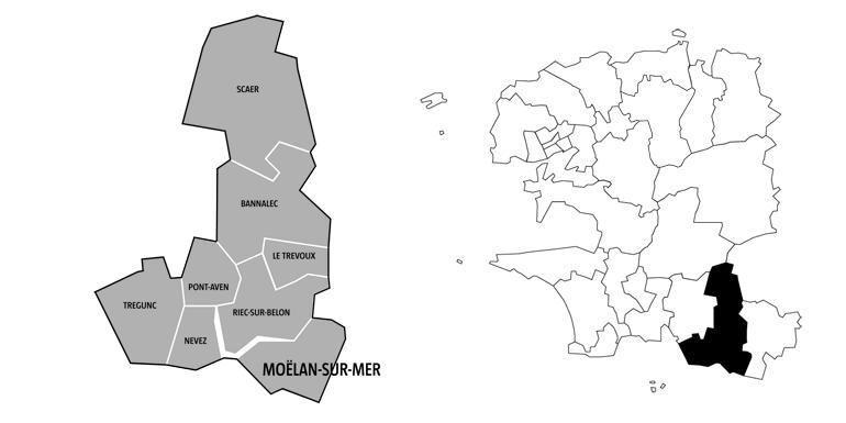 Canton de Moelan-sur-Mer