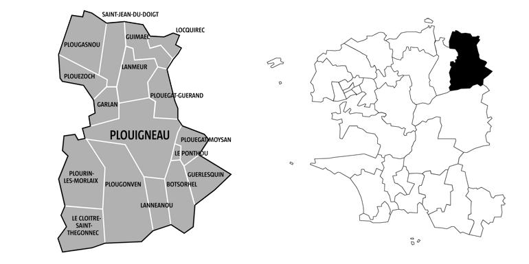 Canton de Plouigneau