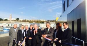 Inauguration de la nouvelle criée de Brest